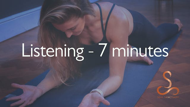 Listening Meditation with Laura Butcher - 7 minutes