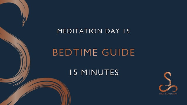 Meditation Day 15 - Bedtime with Charlotte Ellis