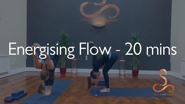 Energising Flow with Laura Butcher - 20 minutes
