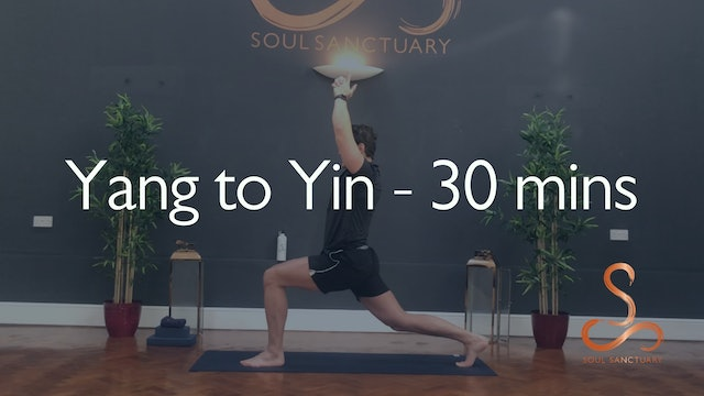 Yang-to-Yin with Laura Butcher - 30 minutes