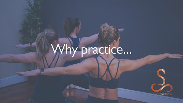 The benefits of your practice...