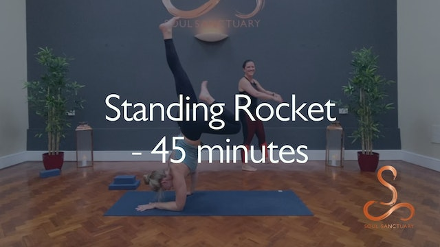 Standing Rocket with Sylvia Roberts - 45 minutes