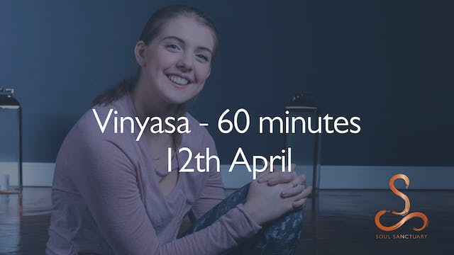 Vinyasa with Charly Sidaway - 60 minu...