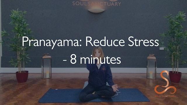 Pranayama: Reducing Stress with Poppy Doorbar - 8 minutes