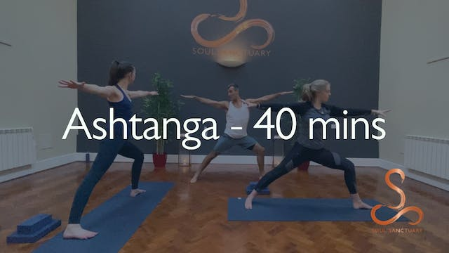 Ashtanga with Ian Miller - 40 minutes