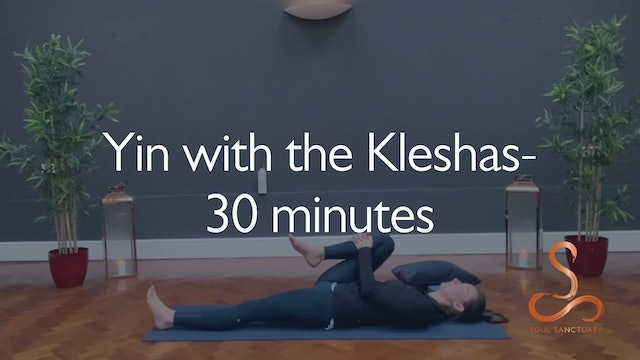 Yin with the Kleshas with Laura Butcher - 30 minutes