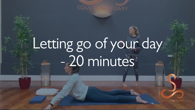 Letting Go Of Your Day with Charly Sidaway - 30 minutes