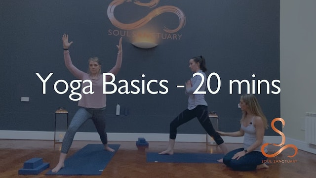 Yoga Basics with Laura Butcher - 20 mins