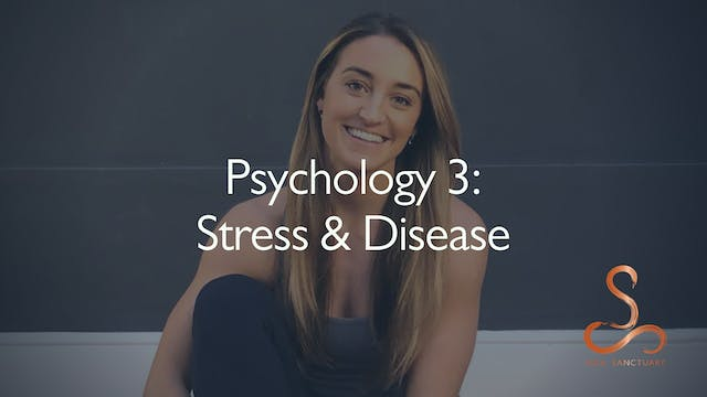 Stress & Disease with Laura Butcher