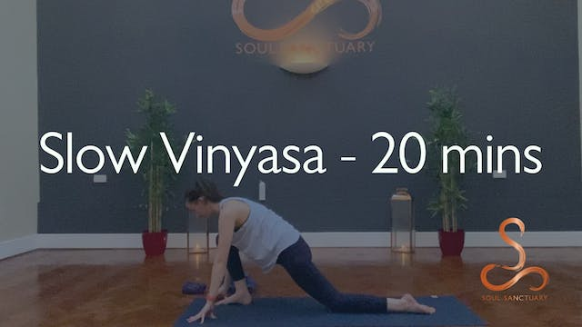 Slow Vinyasa with Charly Sidaway - 20...