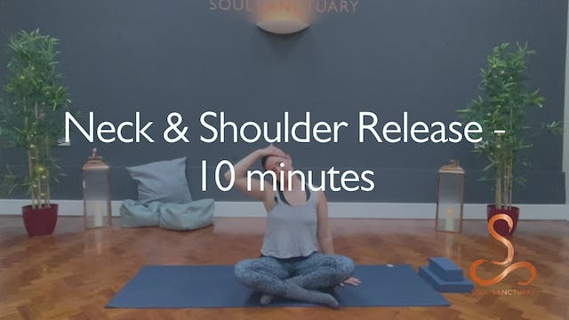 Neck & Shoulder Release with Polly Wo...