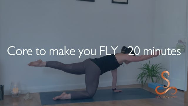 Core to make you FLY with Sylvia Roberts - 20 minutes