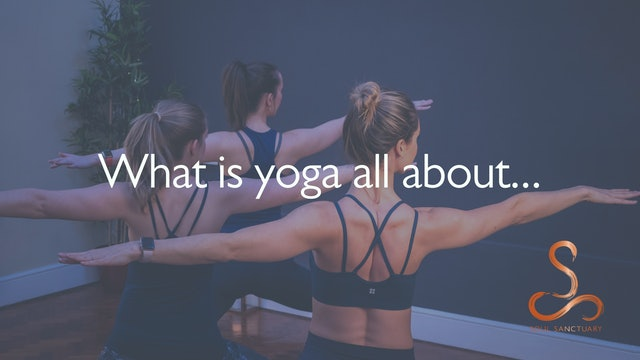 What is yoga all about...