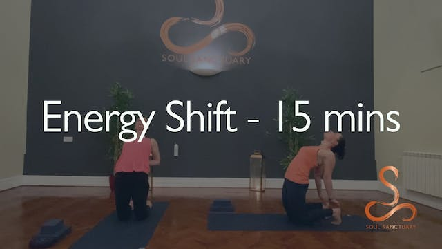 Energy Shift with Charlotte Ellis - 15 minutes
