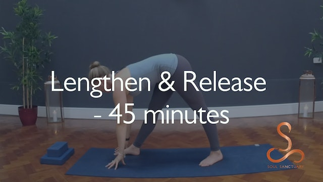 Lengthen and Release with Charlotte Ellis - 45 minutes