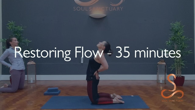 Restoring Flow with Charlotte Ellis - 30 minutes