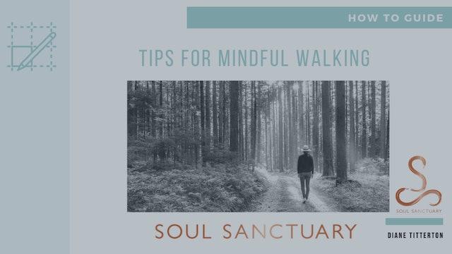 Lesson 6b - Worksheet: Tips for Mindful Walking