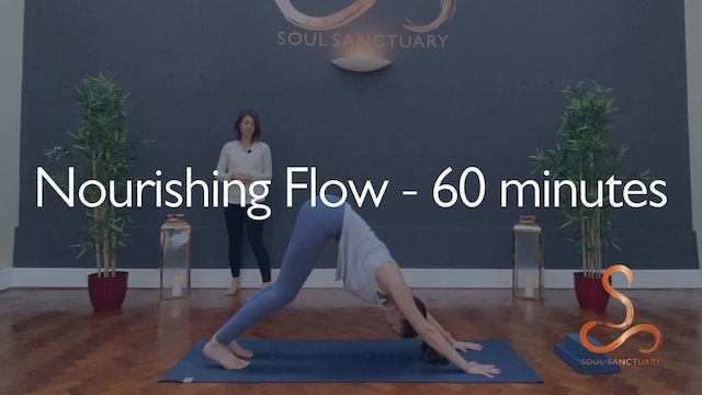 Nourishing Flow with Jess Morris - 60 minutes