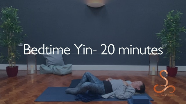 Bedtime Yin with Polly Woodward - 20 minutes