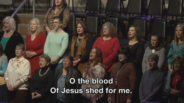 Oh the Blood with Revelation Song