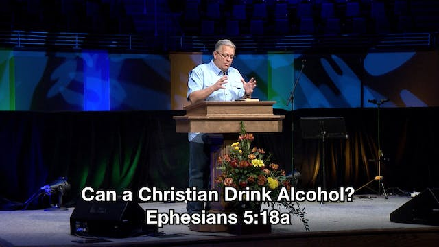 Can A Christian Drink Alcohol? // Wed...