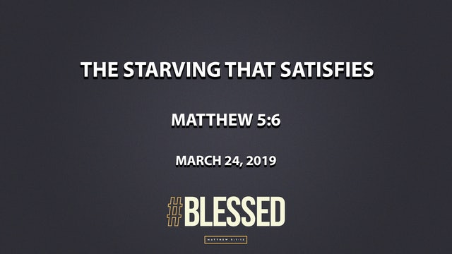 The Starving that Satisfies