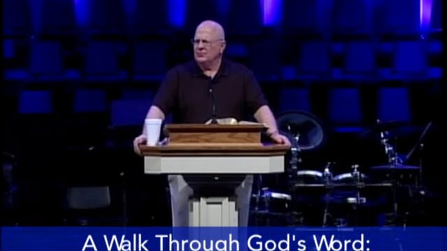 A Walk Through God's Word - Joshua (1...
