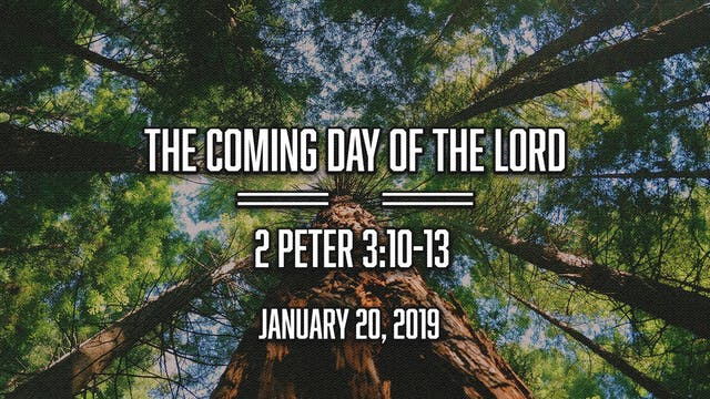 The Coming Day of the Lord