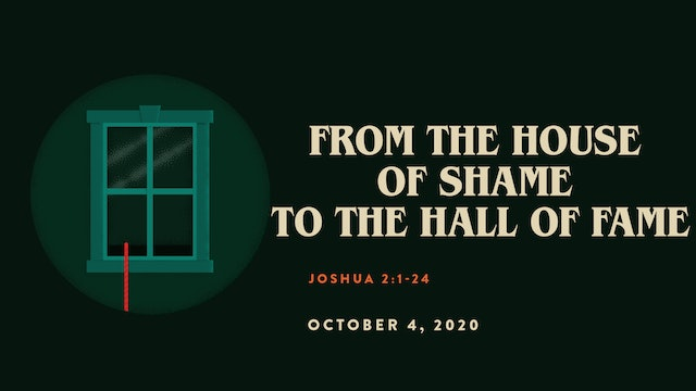 From the House of Shame to the Hall of Fame // The Book - Joshua