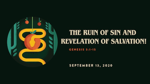 The Ruin of Sin and Revelation of Salvation! // The Book - Genesis