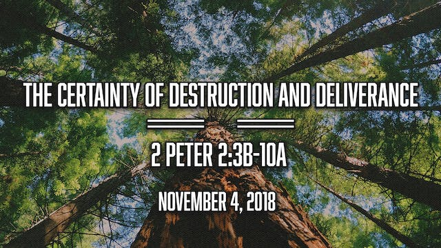 The Certainty of Destruction and Deli...