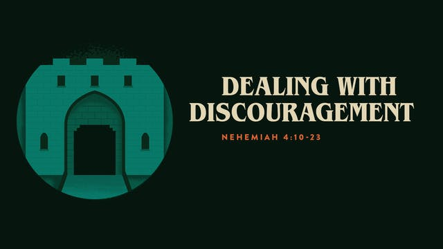 Dealing With Discouragement // The Book