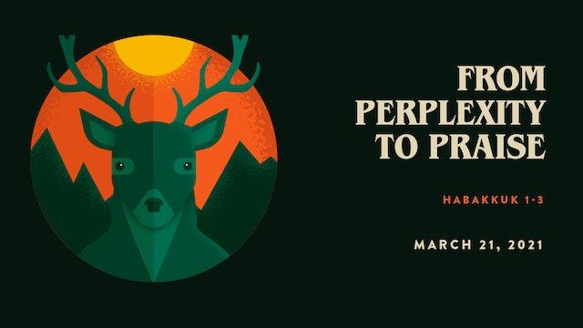 From Perplexity to Praise // The Book - Nahum   Habakkuk   Zephaniah