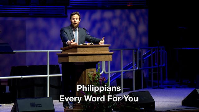 Philippians Every Word For You