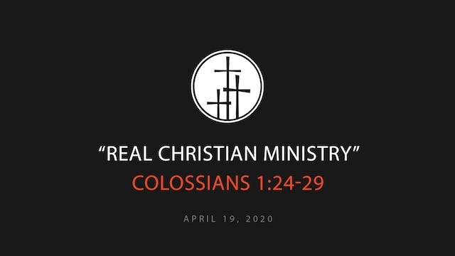 Real Christian Ministry