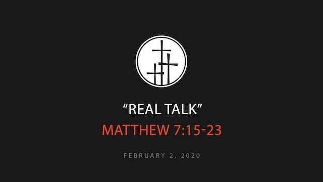 Real Talk // Brandon Hays
