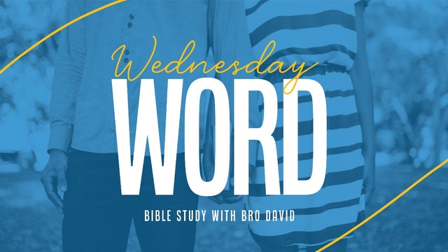 Wednesday Night Bible Study Stream