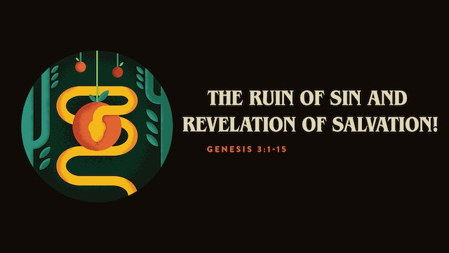 The Ruin of Sin and Revelation of Salvation! // The Book
