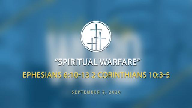Spiritual Warfare // Wednesday Word