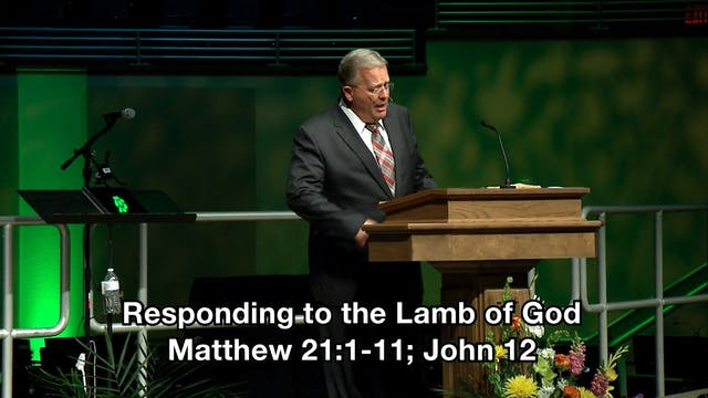 Responding to the Lamb of God