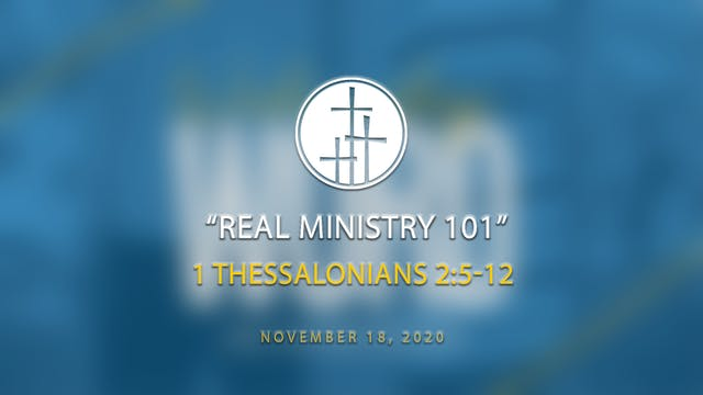 Real Ministry 101 // WW