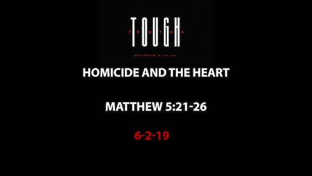 Homicide and the Heart