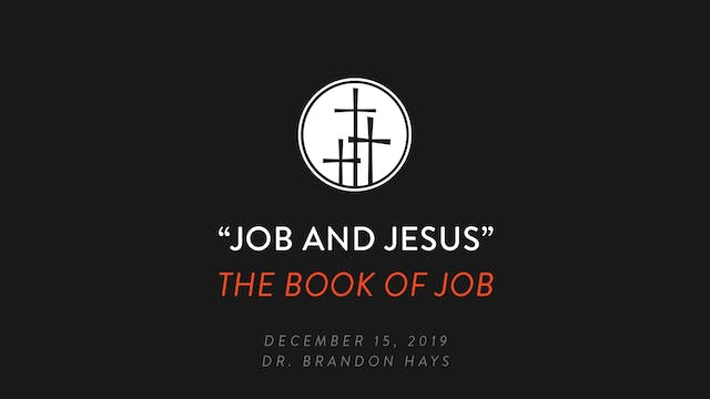 Job and Jesus - Brandon Hays
