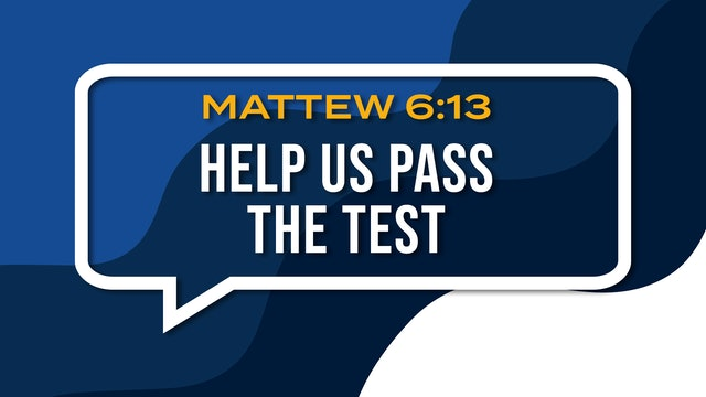 Help Us Pass The Test