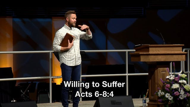 Willing to Suffer - Brandon Hays