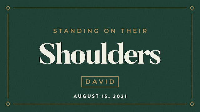 David // Standing on Their Shoulders-...