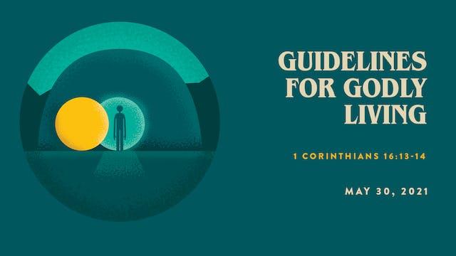 Guidelines for Godly Living // The Bo...