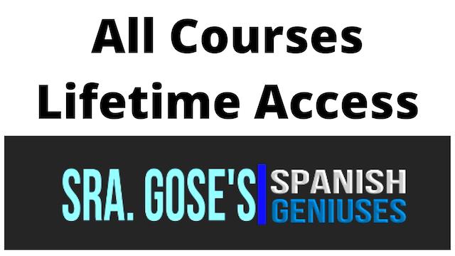 Spanish Geniuses: LifeTime Access