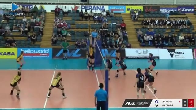 2017 Australian Volleyball League - Womens Gold Medal Final - highlights