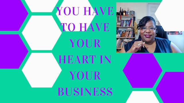 Your Heart In Your Business